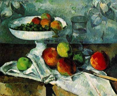 Cezanne, composition